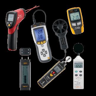 Aplinkos parametrų matavimo prietaisai