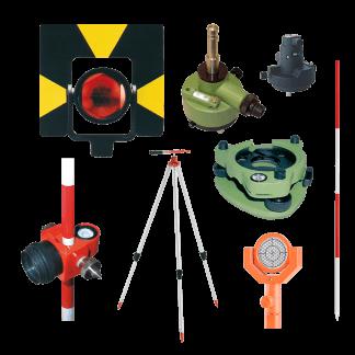Tacheometrų ir GPS priedai